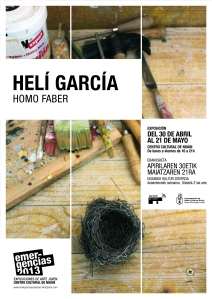 cartel HELÍ GARCIA
